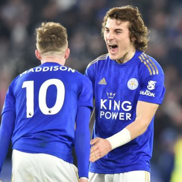 James Maddison Caglar Soyuncu Leicester City