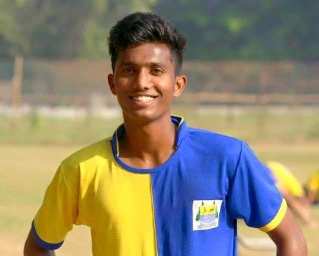 Farukh Choudhary during his time at Lonestar Kashmir FC  Farukh