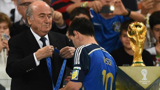 The World Cup trophy has eluded Leo Messi till now