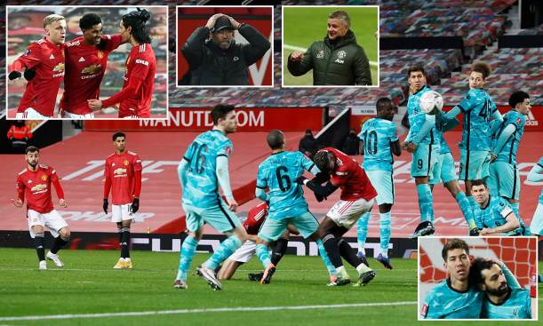 Man Utd knocked Liverpool out of the FA Cup