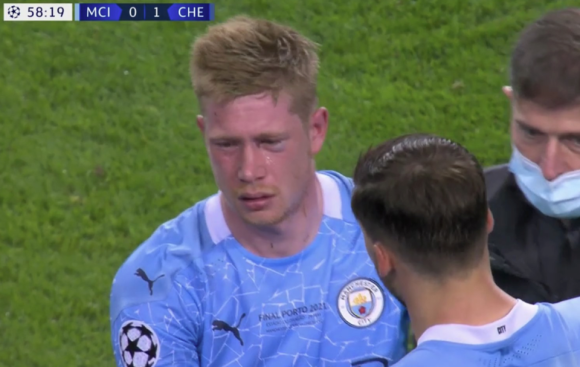 Kevin De Bruyne reveals he suffered same injury as Billy Joe Saunders did  against Canelo Alvarez through Antonio Rudiger clash during Man City's  Champions League final defeat to Chelsea