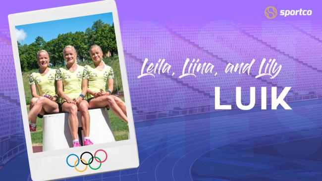 Triplets, Leila, Liina, and Lily Luik of Estonia