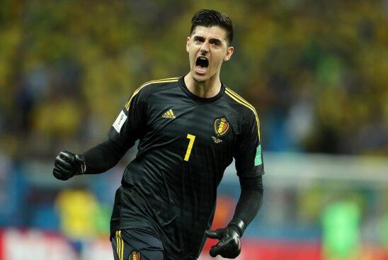 World Cup 2018: Belgium star Thibaut Courtois denies mocking Jordan  Pickford over his height
