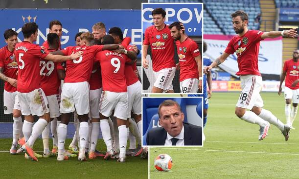 Leicester City 0-2 Man United