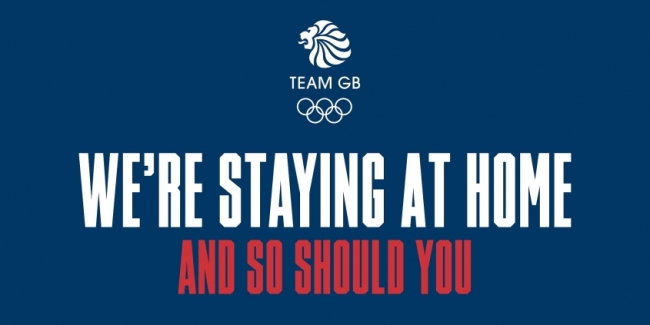 A strong message from the Great Britain Olympics team for the general public