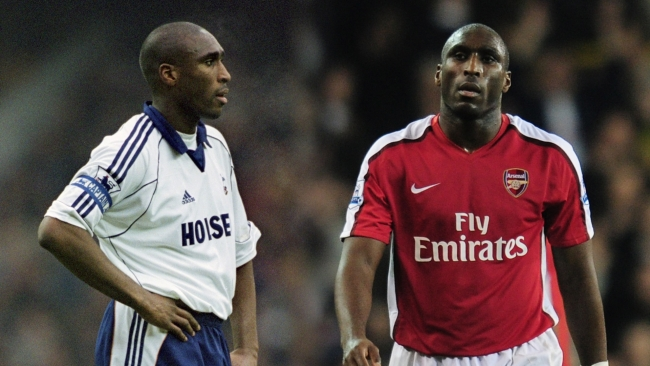 Sol Campbell has donned the jersey of both Tottenham and Arsenal