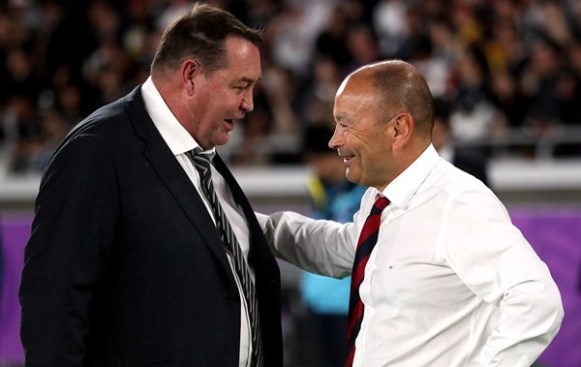 Steve Hansen Eddie Jones England vs New Zealand