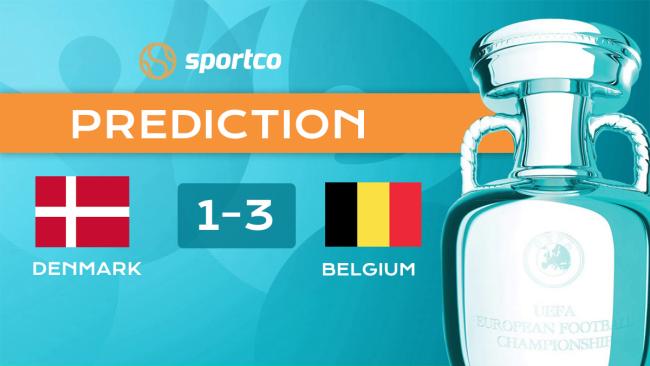 Denmark vs Belgium Euro 2020 Score Prediction