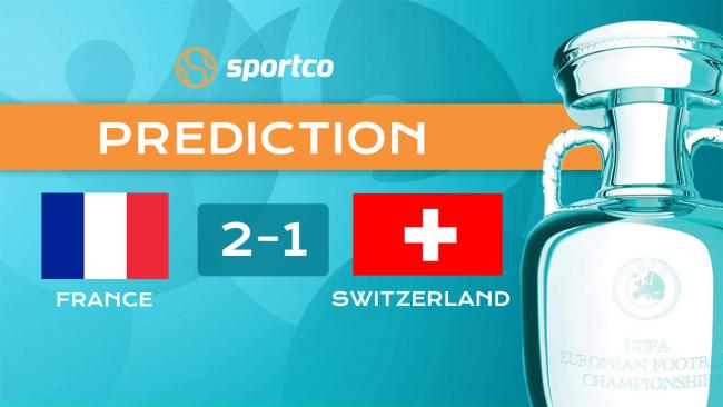 France vs Switzerland Score Prediction Euro 2020