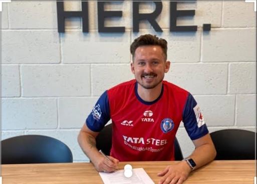 Nerijus Valskis signs for Jamshedpur FC