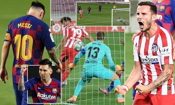Barcelona 2-2 Atletico Madrid